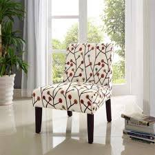 floral accent chair living room