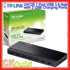 Brand New <b>TP Link UH720 USB</b> 3.0 <b>7</b> Port Hub with 2 <b>USB</b> ...
