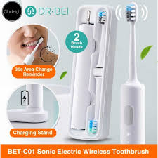 Dr. Bei BET-<b>C01 Sonic Electric</b> Wireless Toothbrush | Shopee ...