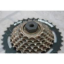 DZT1968 <b>1pc 12 teeth</b> 6-pin <b>Bike Bicycle</b> - Buy Online in Oman at ...
