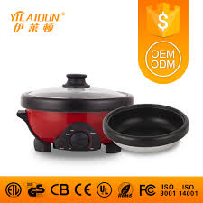 <b>220V</b> China manufacturer wholesale <b>1300W</b> 1.8L <b>electric</b> crock pot ...