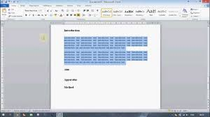 microsoft word tutorial creating a professional looking technical microsoft word tutorial creating a professional looking technical report