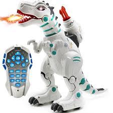<b>Радиоуправляемый интерактивный динозавр</b>, стреляет ...