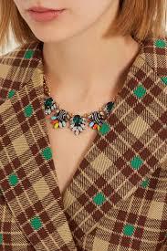 <b>Позолоченное</b> ожерелье с кулонами <b>Anton Heunis</b> 7999354 ...