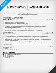 subcontractor resume  resumecompanion com    robert lewis job    subcontractor resume  resumecompanion com    robert lewis job houston resume   pinterest   resume and resume examples