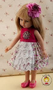 Выкройка платья для Паолок. Куклы <b>Паола Рейна Paola Reina</b> ...