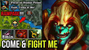 CRAZY ARMLET TOGGLE GOD 1v5 Huskar Mid <b>RAMPAGE</b> 8Min ...