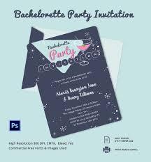 bachelorette invitation psd vector eps ai bachelorette party invitation card template