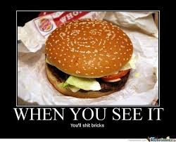 It's Just A Burger... by emixal - Meme Center via Relatably.com