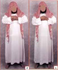 Imam Wahabi Menyerupai Pendeta Yahudi memakai ghurtah kain penutup kepala (tapi bukan sorban/turban)7