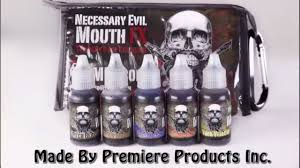 NEW PRODUCT! Mouth <b>FX</b>-Temporary Mouth <b>Dye</b>/<b>Color</b> - YouTube