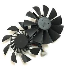 <b>2pcs</b>/<b>lot</b> T129215SU 95mm 12V 0.5A <b>Graphics card fan</b> VGA <b>Cooler</b> ...