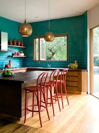 Turquoise Kitchen Unexpected Color Palettes Hgtv