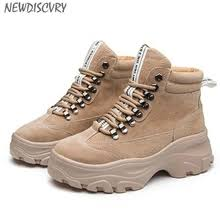 Buy women combat <b>cow</b> leather boots and get free shipping on ...