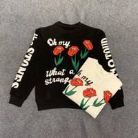 Wholesale <b>Custom women</b> pullover <b>hoodies</b> white <b>flowers</b> - Buy ...