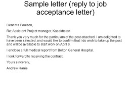 s formal letters writing s formal letters ppt 53 sample letter reply to job acceptance