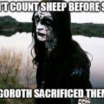 Disappointed Death Metal Guy Meme Generator - Imgflip via Relatably.com