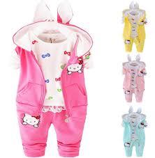 <b>2016 Winter</b> Velvet Toddler Girl Clothing Sets 3pcs <b>Hooded</b> Coats ...