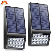 <b>Super Bright 2PCS 15Led</b> Outdoor Solar Light Garden Solar Wall ...