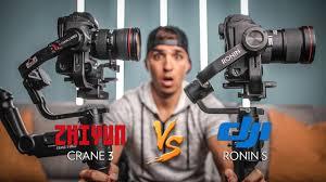 DJI Ronin S vs <b>Zhiyun Crane 3</b> Lab - YouTube