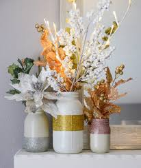 jar crafts home easy diy:  awesome amp easy diy winter home decor projects