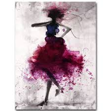 fashion <b>red girl</b> minimalist abstract art canvas <b>oil</b> print <b>paintings</b> ...