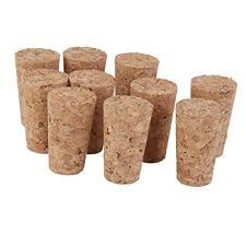 <b>10pcs</b> Tapered <b>Wooden</b> Cork Bung Stopper Tops for Bottle Jar Craft ...