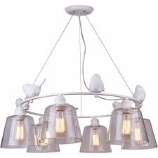 <b>Люстра</b> с птичками Passero <b>A4289LM</b>-<b>6WH Arte Lamp</b> - купить в ...
