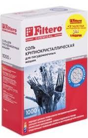 <b>Filtero СОЛЬ</b> для ПММ 1кг.+3 таблетки д/ПММ, <b>Арт</b>. 707
