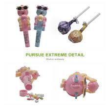 <b>newest creative personality</b> candy <b>toy</b> lollipop holder robot for kids