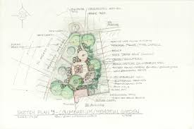 how to garden design sketch up fine woodworking blueprint columbarium plan daniel d wise landscape architect resume