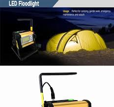 ultra bright led flood light 30w ipx67 waterproof floodlight spotlight outdoor lighting camping lantern bright outdoor lighting