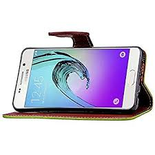 ELECTROPRIME 2X(PU <b>Leather Flip Magnetic Case</b> Wallet Case ...