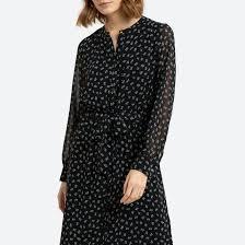 <b>Платье</b>-рубашка <b>длинное</b> с цветочным рисунком цветочный ...