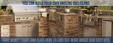 outdoor kitchen kits custom built