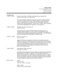 sample social work resume com sample social work resume to inspire you how to create a good resume 10