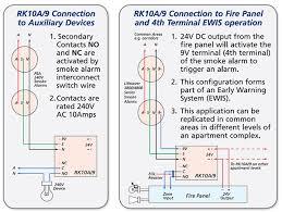 smoke heat alarm isolation relay lifrk10a9 smoke alarm isolation relay wiring diagram