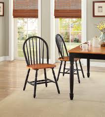 time dining room windsor better homes and gardens autumn lane windsor chairs set of  black and