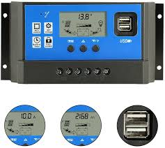 LCD 40A MPPT <b>Solar Panel</b> Regulator Charge Controller <b>12V</b>/<b>24V</b> ...