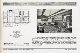 A Popular California Bungalow Pattern Used By Sears Modern Homes    The Bungalow Craftsman catalog of Jud Yoho and Edward Merritt also shows the interior of