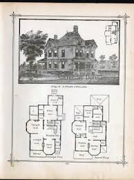 Victorian house plans  Home plans and Victorian on PinterestGothic Frame Dwelling Vintage House Plans Antique Victorian Architecture Print To Frame