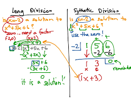 ShowMe - Long and synthetic division worksheet algebra 2Long division vs. Synthetic division