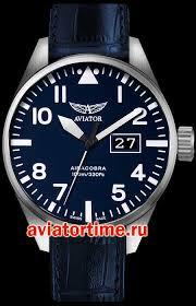 Швейцарские наручные мужские <b>часы AVIATOR V</b>.<b>1.22.0.149.4</b> ...