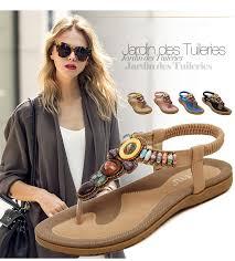 LAKESHI Bohemian <b>Summer Women</b> Sandals Big Size 44 45 ...