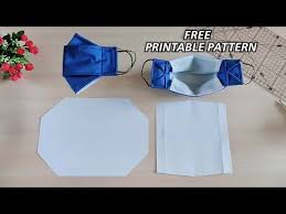DIY <b>3D Face Mask</b> With Filter Pocket | Free Printable Pattern ...