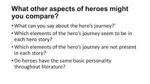 the hero essay what are you writing your essay about main focus what other aspects of heroes might you compare