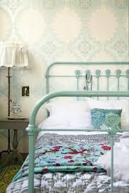 bedrooms ivory blue wallpaper seafoam green iron vintage bed vintage bedroom pinterest vintage bedroom pinterest blue vintage style bedroom