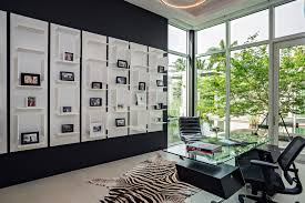 black and white furniture idea for home office black and white home office