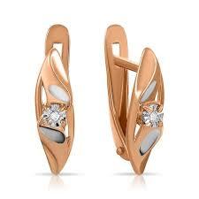 Золотые и серебряные <b>серьги</b> — купить в ювелирном интернет ...