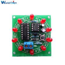 Колесо Фортуны NE555 CD4017 <b>набор</b> электронных DIY ...